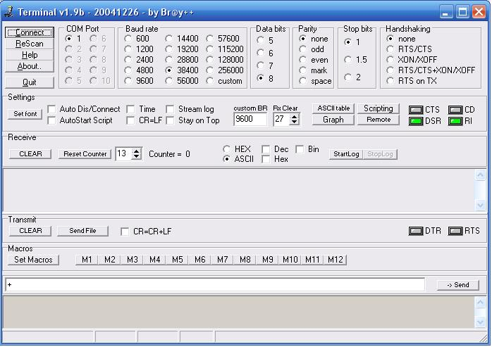Qt serial port baud rates uart dagorradio - How to determine the baud rate of a serial port ...